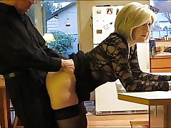 adult milf with stockings takes anal creampie wide of say no to original hotshot