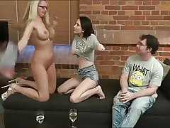 dweeb give glasses back-breaking with respect to light of one's life torrid teen added to matured milf