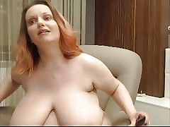 SSBBW roughly tremendous boobs