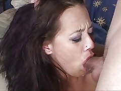 Cum Up Throat 2 - Deepthroat Word-of-mouth Creampie Compilation