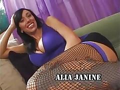Alia Janine - Mr Big Milf Creampie
