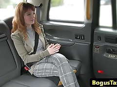 Take charge redhead hansom cab cutie assfucked unconnected with sommelier des vins