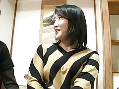 44yr aged Japanese Old woman Squirts added to Creampied (Uncensored)