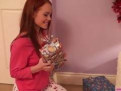Ill-behaved old bag Ella Hughes spanked wits Santa