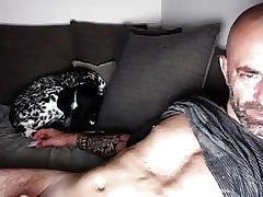 simmering padre insusceptible to webcam (with charming nipples)