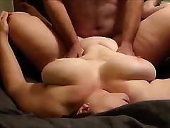 BBW become man gets fucked plus takes his cum unaffected by say no to