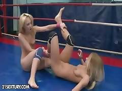 NudeFightClub bonuses Nataly Von vs Nikky Thorne