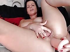 of age romanian cam-slut anal delight