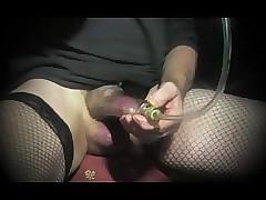 shemale receiver laurel-wreath urethral pumping underthings pantyhose